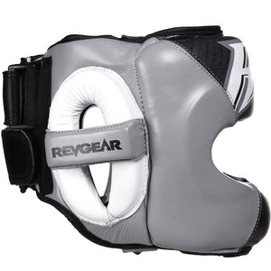 Guvnor Face Saver Head Guard - Black/Grey