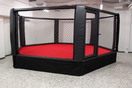 Elevated Gym Cage