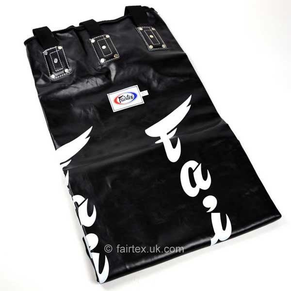 Fairtex 6ft Banana Kick Bag Black - Unfilled