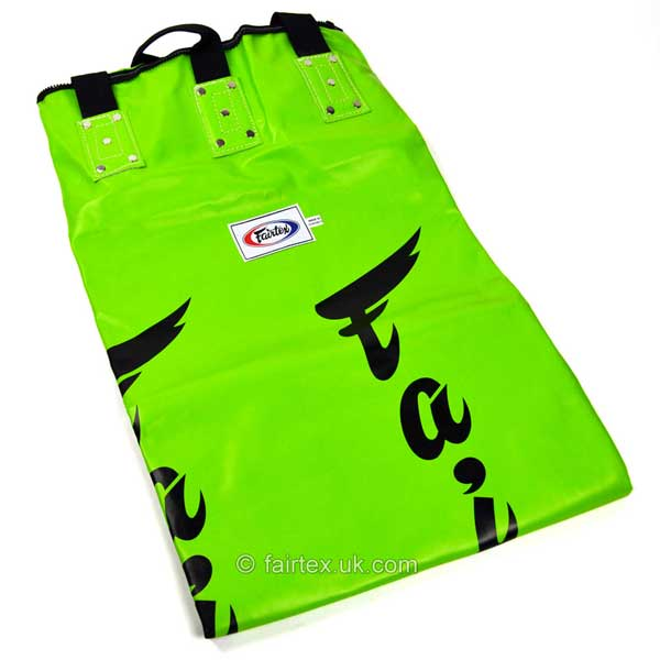 Fairtex 6ft Green Banana Kick Bag - Unfilled