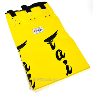 Fairtex 6ft Yellow Banana Kick Bag - Unfilled
