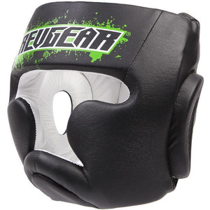 Kids Deluxe Head Guard - Green