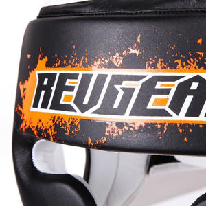 Kids Deluxe Head Guard - Orange - Fightstore Pro