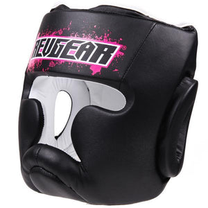 Kids Boxing Head Guard Pink