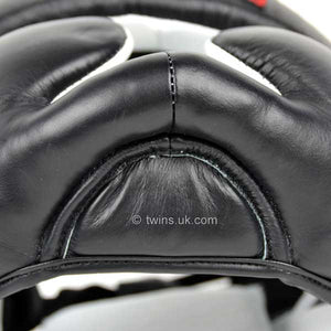 Twins Black Sparring Head Guard 2