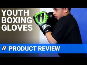 Kids Deluxe Boxing Gloves - Blue