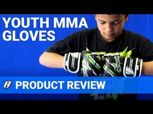 Kids Deluxe MMA Gloves - Blue