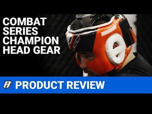 Champion II MMA Head Guard - Red - Fightstore Pro
