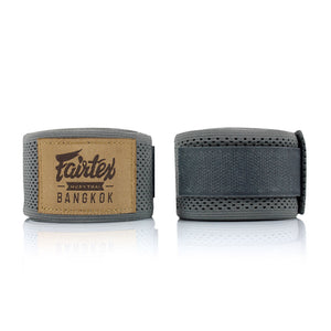 HW4 Fairtex Grey Mesh Hand Wraps