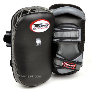 Twins KPL-12 Deluxe Curved Leather Thai Kick Pads
