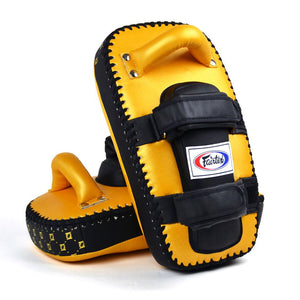 Fairtex Light Weight Thai Kick Pads - Gold