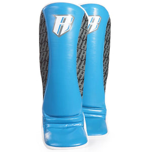 Superlite MMA Shin Guards - Blue