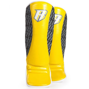 Superlite MMA Shin Guards - Yellow - Fightstore Pro