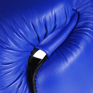Original Thai Boxing Gloves - Blue - Fightstore Pro