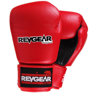 Original Thai Boxing Gloves - Red - Fightstore Pro