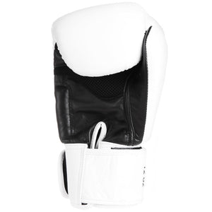 Original Thai Boxing Gloves - White - Fightstore Pro