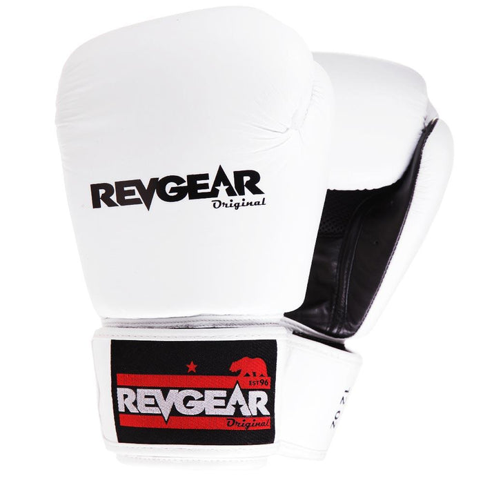Revgear Original Thai Boxing Gloves - White