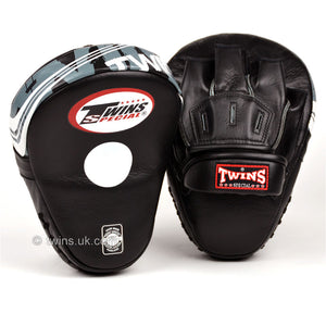 Twins PML-10 Deluxe Curved Focus Mitts Black