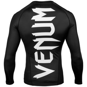 Venum Giant Long Sleeved Rashguard - Black - Fightstore Pro