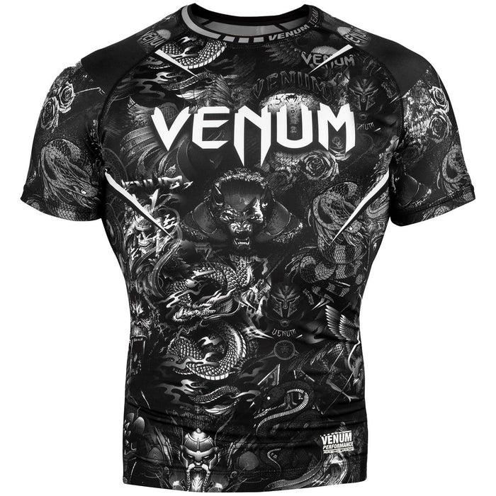 Venum Art Short Sleeved Rashguard