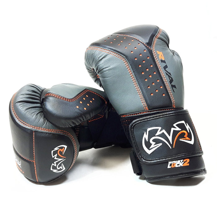 Rival RB10 Intelli-Shock Bag Gloves - Black & Grey