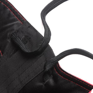Spartan Pro Micro MMA Shorts - Black & Red