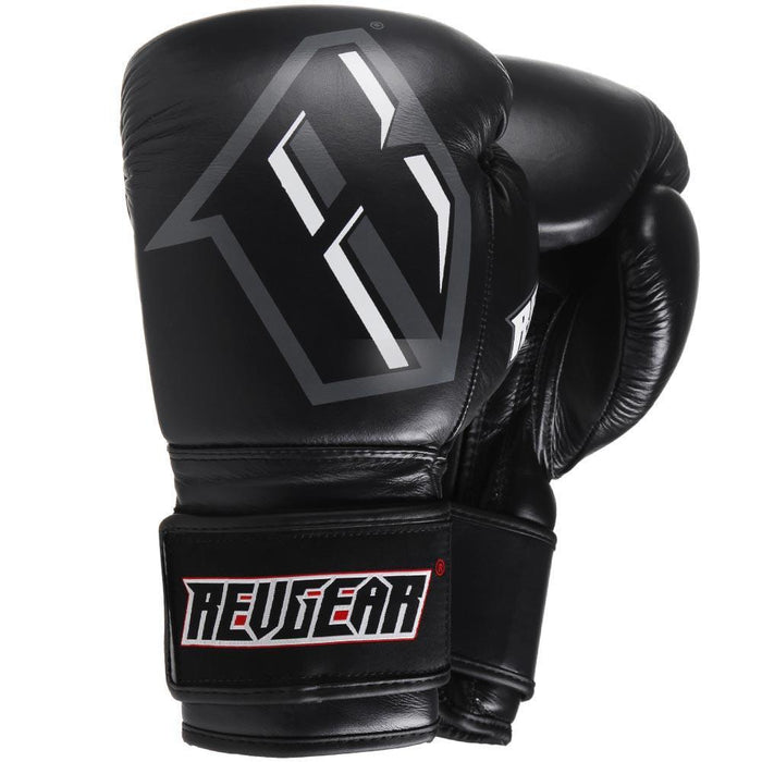 Revgear S3 Sparring Boxing Glove - Black Grey