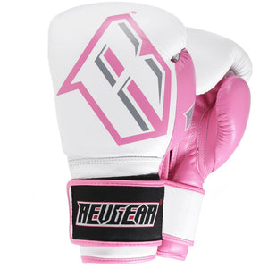 S3 Sparring Boxing Glove - White Pink