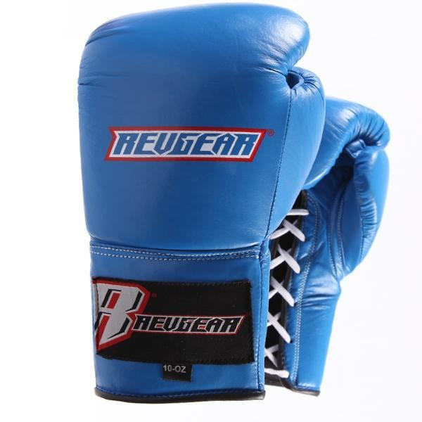 Revgear Professional Competition Boxing Gloves - Blue