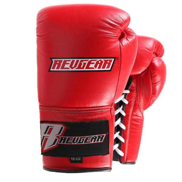 Revgear Professional Competition Boxing Gloves - Red