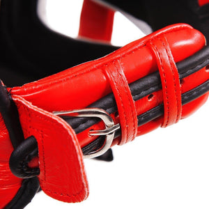 Guvnor Face Saver Head guard - Red - Fightstore Pro