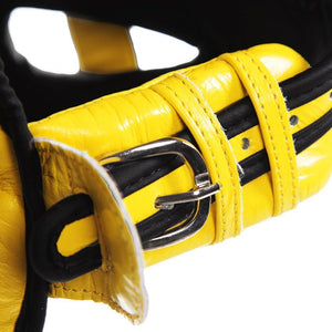 Guvnor Face Saver Head guard - Yellow