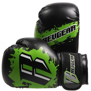 Kids Deluxe Boxing Gloves - Green - Fightstore Pro