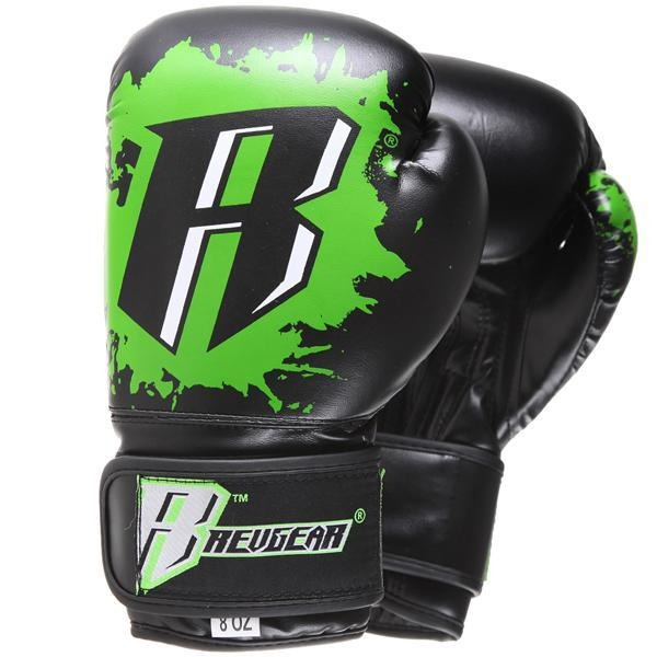 Revgear Kids Deluxe Boxing Gloves - Green