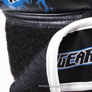 Kids Deluxe MMA Gloves - Blue - Fightstore Pro