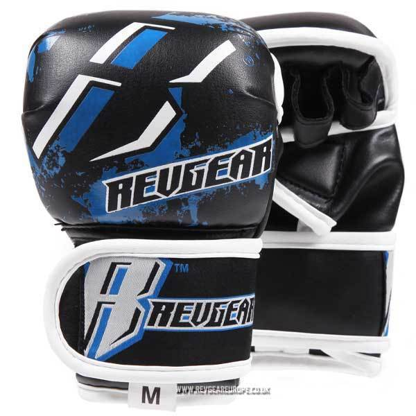 Revgear Kids Deluxe MMA Gloves - Blue