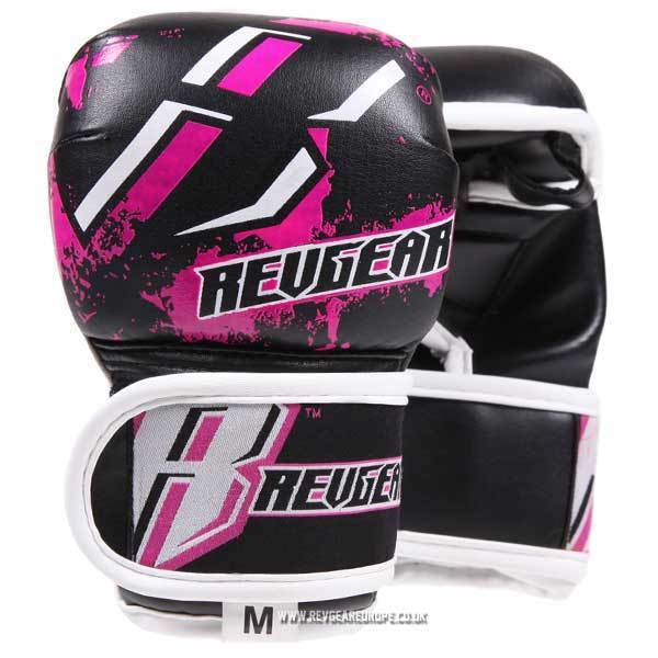 Revgear Kids Deluxe MMA Gloves - Pink