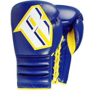 S4 – PROFESSIONAL BOXING SPARRING GLOVE (BLUE) - Fightstore Pro