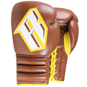 S4 – PROFESSIONAL BOXING SPARRING GLOVE (AUTHENTIC BROWN) - Fightstore Pro