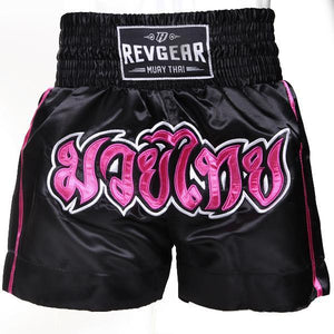 Revgear Kids Muay Thai shorts Pink and Black