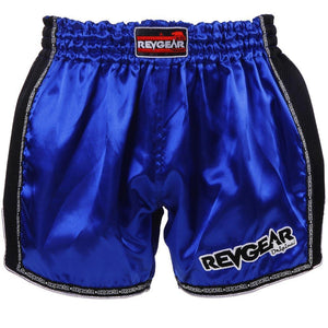 Revgear Original Muay Thai Shorts Blue