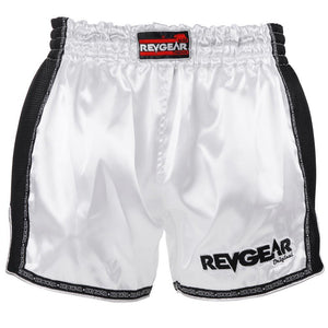 Revgear Thai Shorts White