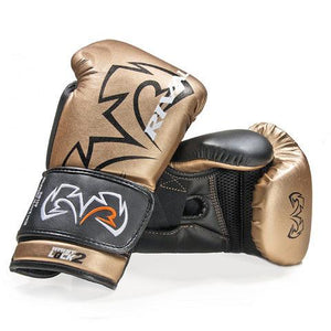 Rival Rs11v Evolution Boxing Sparring Gloves - Gold