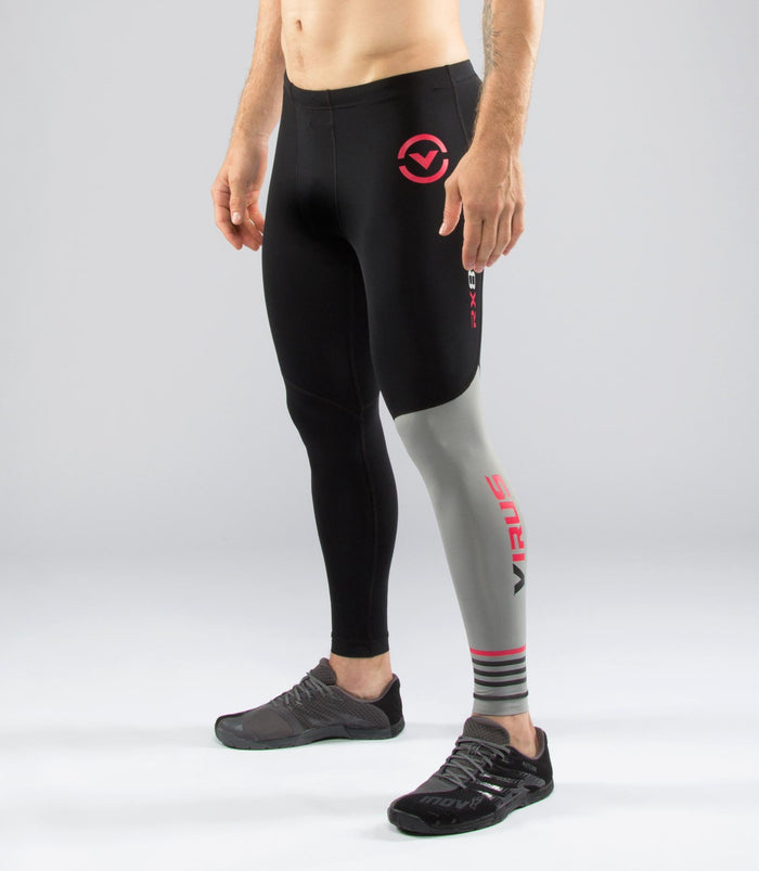 Virus StayCool Compression Pants Black/Silver
