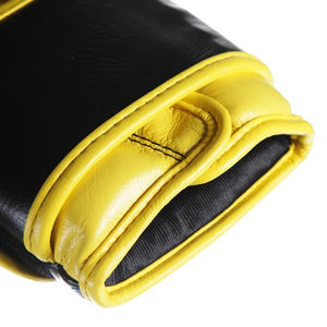 S3 Sparring Boxing Glove - Black Yellow