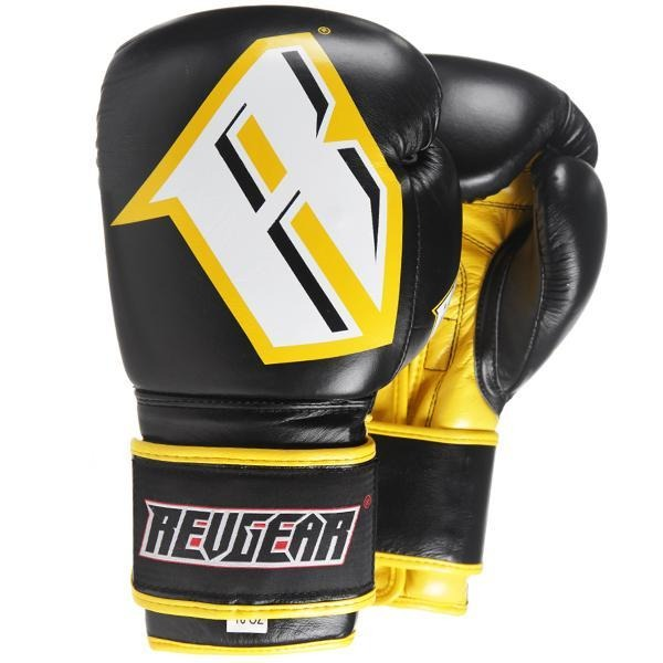 Revgear S3 Sparring Boxing Glove - Black Yellow