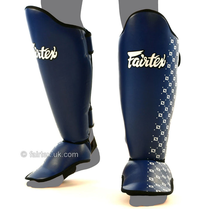 Fairtex Shin Guards - Competition Blue