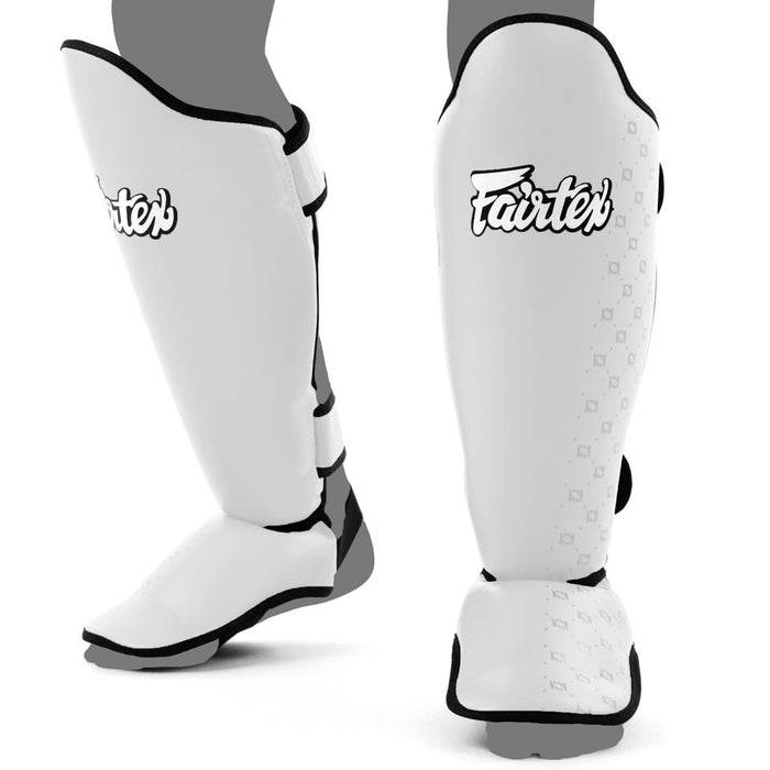 Fairtex Shin Guards - Competition White