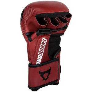 Venum Ringhorns Charger MMA Sparring Gloves - Red