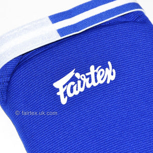 Fairtex SPE Blue Elastic Competition Shin Pads 6